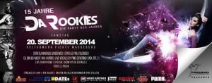 15 Jahre Da Rookies Festival – 20 September 2014 im Kulturwerk Fichte