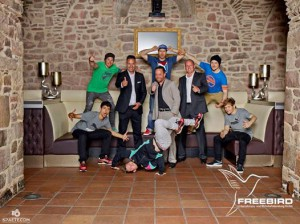 Verantwortung für Unternehmer: Freebird GmbH und Da Rookies, Magdeburg